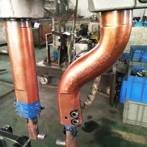 柳州市华鹏机电焊接产品座焊机握杆用在上汽通用生产线上